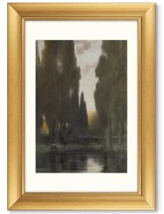 Постер In the Pontine Marshes 51X71 CM