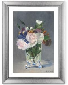 Постер Flowers in a Crystal Vase 61X81 CM