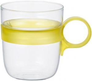 Кружка Drop 260 ml жёлтая