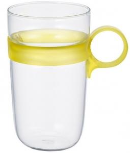 Кружка Drop 380 ml жёлтая