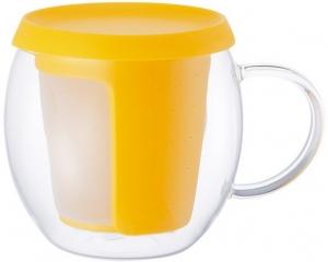 Кружка - чайник Mio 350 ml желтая