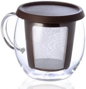 Кружка - чайник Mio 350 ml чёрная