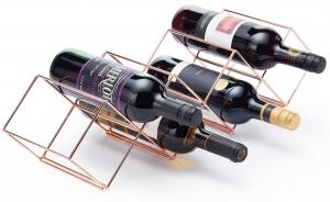 Стойка винная медная BarCraft 26X16X8 CM