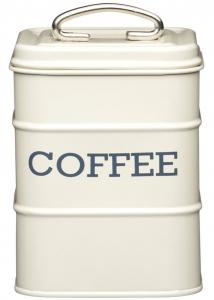 Ёмкость для хранения кофе Living Nostalgia 11X11X17 CM creamy