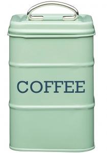 Ёмкость для хранения кофе Living Nostalgia 11X11X17 CM Green