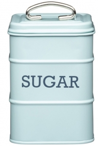 Ёмкость для хранения сахара Living Nostalgia 11X11X17 CM Blue