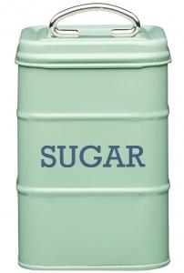Ёмкость для хранения сахара Living Nostalgia 11X11X17 CM Green