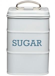 Ёмкость для сахара Living Nostalgia 11X11X17 CM grey
