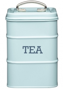 Ёмкость для хранения чая Living Nostalgia 11X11X17 CM Blue