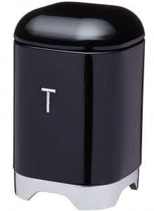 Ёмкость для хранения чая Lovello 12X12X19 CM Black