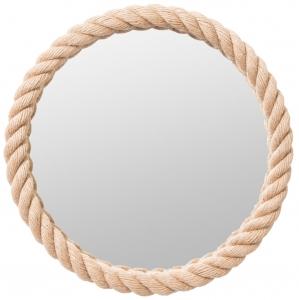 Круглое зеркало в канате Ø65 CM