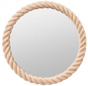 Круглое зеркало в канате Ø55 CM