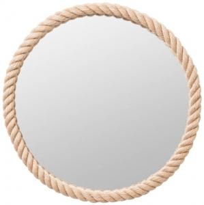 Круглое зеркало в канате Ø75 CM