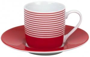 Кофейная пара эспрессо Marinière rouge 85 ml