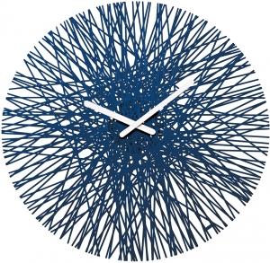 Часы настенные SILK Ø46 CM синие
