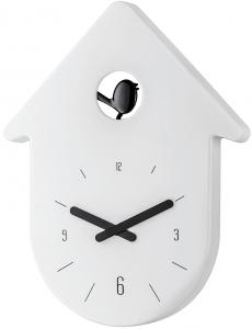 Часы настенные Toc-Toc 24X31 CM бело-чёрные