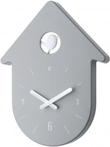 Часы настенные Toc-Toc 24X31 CM серо-белые