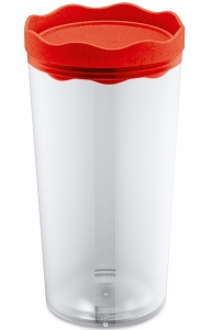 Контейнер для хранения Prince organic 1 L красный
