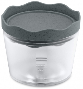 Контейнер для хранения Prince organic 300 ml тёмно-серый