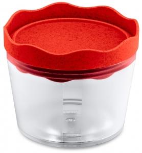 Контейнер для хранения Prince organic 300 ml красный
