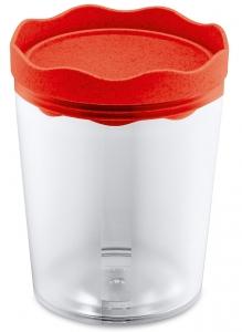 Контейнер для хранения Prince organic 750 ml красный