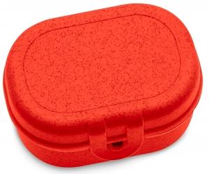 Ланч-бокс Pascal 10X7X5 CM organic красный