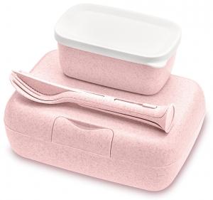 Ланч-бокс Candy Ready 19X13X7 CM organic розовый