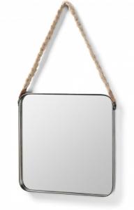 Квадратное зеркало на ремне Stiel 38X38 CM