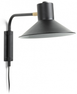 Настенная лампа Aria 20X36X24 CM чёрного цвета