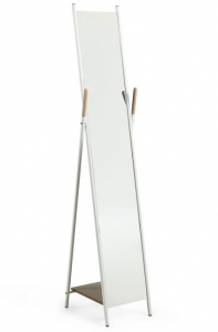 Напольное зеркало с вешалкой Cheryl 33X41X159 CM