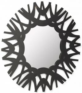 Зеркало в стальной раме Mikel Ø60 CM