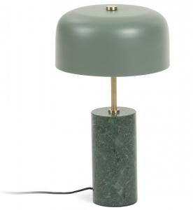 Настольная лампа Videl 26X26X44 CM зелёного цвета