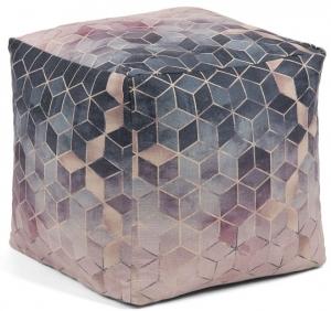 Пуф с геометрическим принтом Imma 45X45X45 CM