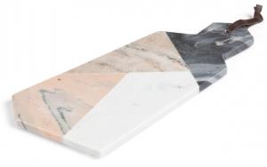Доска для сервировки из мрамора Bergman 41X20 CM