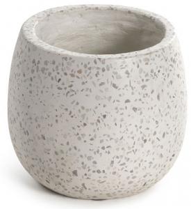 Кашпо керамическое Braydon 15X15X14 CM белое