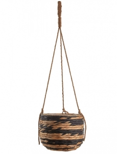 Подвесное плетёное кашпо Henrich 25X25X20 CM