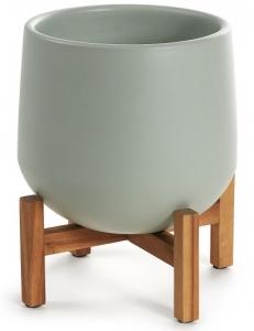Кашпо керамическое на подставке Denpasar 36X36X46 CM