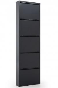 Шкаф для хранения обуви Ode 50X15X69 CM тёмно серый