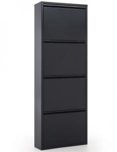 Шкаф для хранения обуви Ode 50X15X136 CM тёмно серый