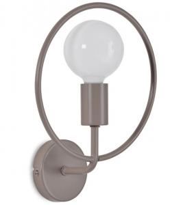 Настенный светильник Rohme 25X11X32 CM серого цвета