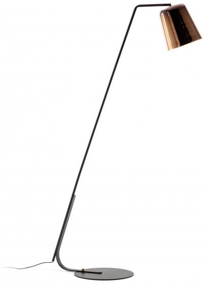 Торшер с абажуром из металла Anina 103X38X171 CM 1