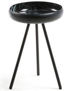 Столик с чашеобразной столешницей Reuber 36X36X50 CM