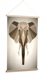 Постер Nomand Elephant 60X90 CM