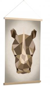 Постер Nomand Rhino 60X90 CM