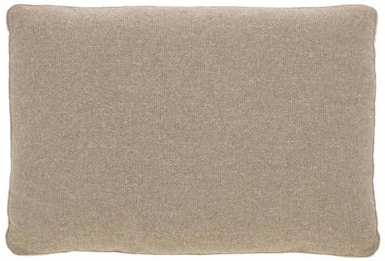 Подушка для дивана Blok 50X70 CM бежевого цвета 1