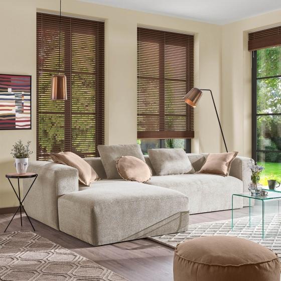 Подушка для дивана Blok 50X70 CM бежевого цвета 2