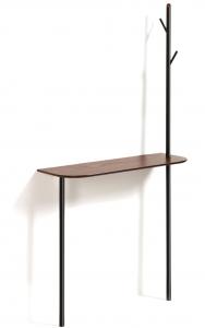 Консольный столик с вешалкой Marcolina 80X30X160 CM
