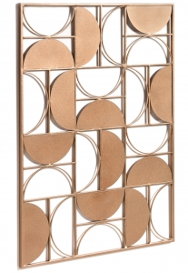 Декоративное панно из металла Bronde 72X100 CM