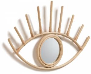 Зеркало с очертаниями глаза Maela 55X36 CM