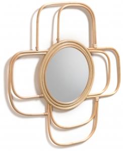 Зеркало в рамке ротанга Maeve 60X60 CM